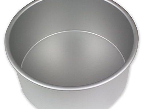 Pme Moule à Gâteau Rond En Aluminium Anodisé, 178mmx 102mm De Profondeur
