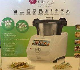 Silvercrest Monsieur Cuisine Connect Robot Cuiseur Avec Accessoires Standards