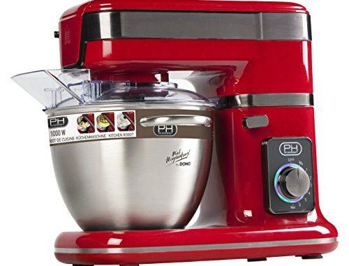 Domo Do 9073 Kr Robot Pâtissier Rouge
