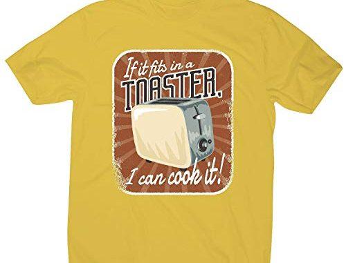 Graphic Gear T Shirt Humoristique Pour Homme Inscription Toaster Jaune L