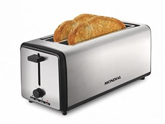 Mondial Smart Day 4 slice Toaster grille Pain Argenté