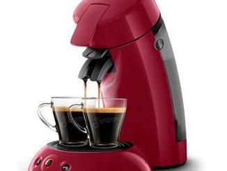 Philips Hd6554/91 Machine à Café à Dosettes Senseo Original Rouge Intense 0, 75 Litre