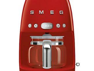 Smeg Dcf01rdeu Cafetière Filtre Rouge