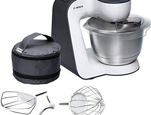 Bosch Mum54a00 Robot Pâtissier 900 W, 3,9 L Noir