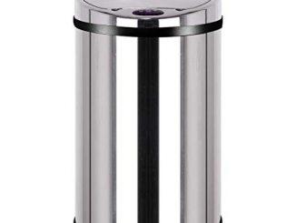 Kitchen Move Bat 30lb As Design Originale Poubelle Sensor Automatique Inox Capacité 30 Litres