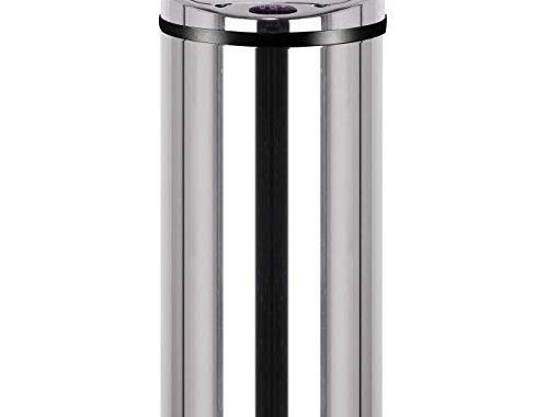 Kitchen Move Bat 42lb As Design Originale Poubelle Sensor Automatique Inox Capacité 42 Litres