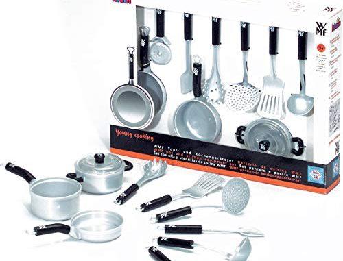 Klein 9428 Jeu D'imitation Batterie De Cuisine Wmf