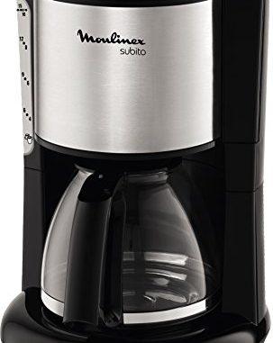 Moulinex Fg360811 Cafetière Filtre Verseuse Subito Inox 10 15 Tasses 1000w