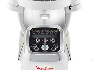 Moulinex Hf802aa1 Robot Cuiseur Multifonction Companion 6 Programmes Automatiques, 5 Accessoires Inclus, Capacité Jusqu'à 6 Personnes, 1 Million De Menus