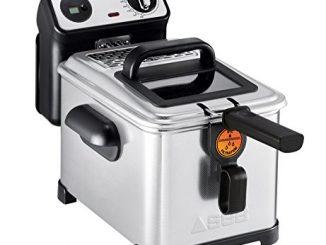 Seb Fr518100 Friteuse Semi Professionnelle Filtra Pro 4l 2300w Frites Poulet Capacité 1,3kg Cuve Amovible Thermostat Réglable Inox