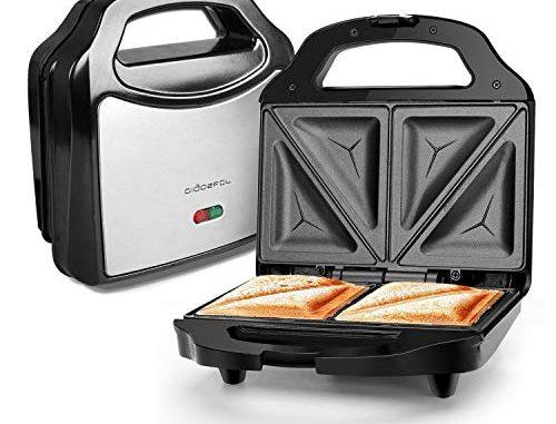 Aigostar Cieplo Steel 30cex Grill Pour Sandwichs De 700 W En Acier Inoxydable. Qualité Et Garantie Propre. Garanti Sans Bpa.
