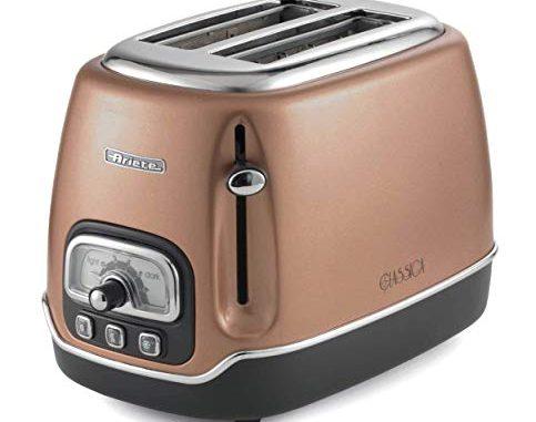 Ariete Cuivre Grille Pain Toaster 2 Fentes Classica