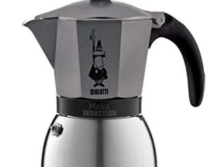 Bialetti Cafetière Moka Induction 6 Tasses 30cl Gris Anthracite