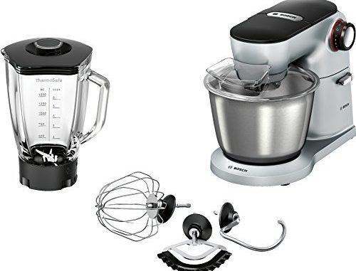 Bosch Préparation Culinaire Kitchen Machine Argenté, 1500 W