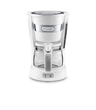 Delonghi Icm14011.w Cafetière Filtre 6 Tasses 600w