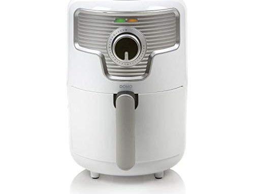 Domo Do517fr Airfryer Mini Friteuse à Air Chaud En Plastique 1,6 L 1000 W Blanc 1,6 L