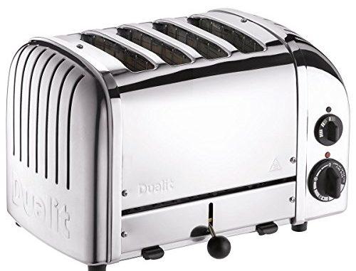 Dualit Toaster 4 à Sous Classiques Vario Aws Acier Inoxydable Poli 40378  * ** Importation Britannique ***