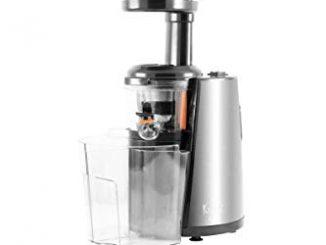 Extracteur De Fruits Et Legumes Slow Juicer Modele Nectar Inox