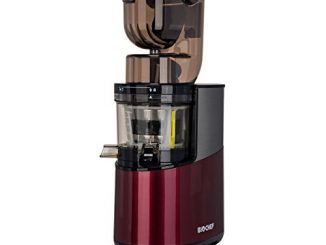 Extracteur De Jus Biochef Atlas Whole Slow Juicer Pro Puissance Maximale 400w / 40 Tr/min, Grande Ouverture, Moteur Très Puissant (rouge)