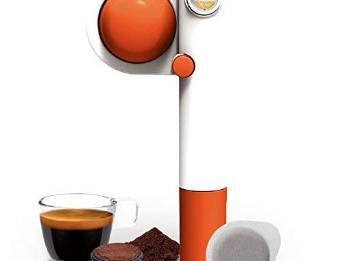 Handpresso Pump Pop Orange 48315 Machine Expresso Portable Et Manuelle à Dosette Ese Ou Café Moulu