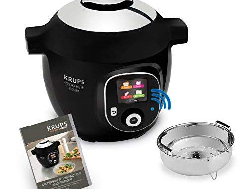 Krups Cz7158 Cook4me+ Connect Multicuiseur 1600 4 L Noir/gris