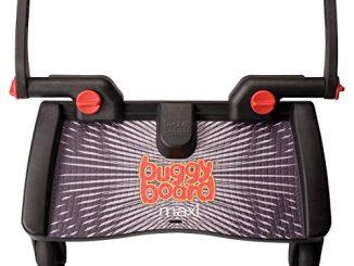 Lascal Buggyboard Maxi Planche à Roulettes Large Noir