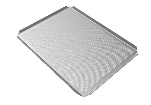 Lehrmann Plaque De Cuisson à Pizza Pour Four Bosch Neff Siemens 46,5 X 37,5 Cm