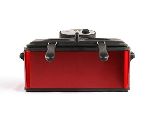 Livoo Doc149 Maxi Friteuse, 3000 W, 6 Liters, Rouge