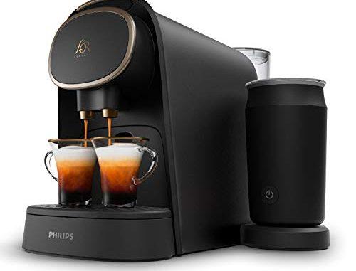L'or Barista Lm8018/90 Machine à Café à Capsules Avec Mousseur à Lait Premium