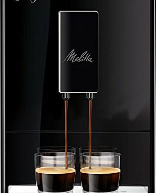 Melitta Machine à Café Automatique, Caffeo Solo, Noir Pure Black, E950 222