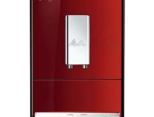 Melitta Machine à Café Automatique, Caffeo Solo, Rouge, E950 104