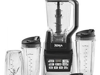 Mixeur 2 En 1 Ninja Duo Avec Nutri Ninja Intégré [bl642eu] 1500 W, Auto Iq , Inclut Carafe 2.1 L & 3 Tasses Tritan