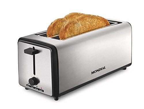 Mondial Smart Day 4slice Toastergrille Pain Argenté