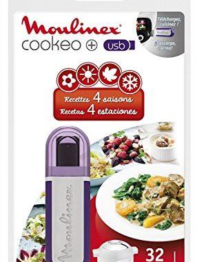 Moulinex Clé Usb De 32 Recettes 4 Saisons Xa600611 Accessoire Cookeo Officiel Compatible Avec Multicuiseurs Cookeo Yy2943fb Ce702100