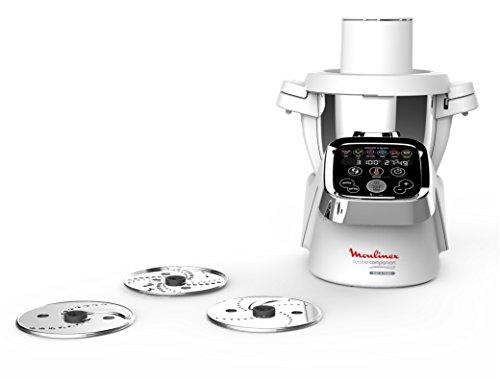 Moulinex Découpe Légumes Xf383110 Accessoire Companion Officiel Râpe Tranche Compatible Avec Tous Les Robots Cuisine Companion