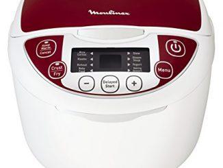 Moulinex Mk705111 Multicuiseur Traditionnel 12 En 1 Rouge 5 L