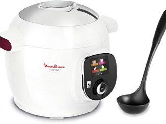 Moulinex Multicuiseur Intelligent Cookeo 100 Recettes + Louche Ce7001 00