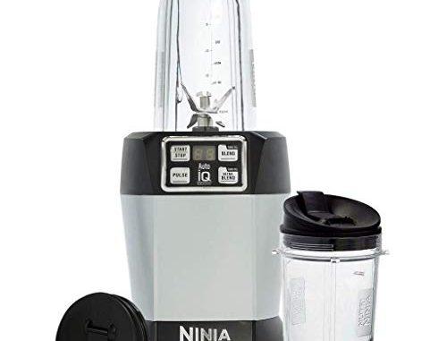 Nutri Ninja Mixeur Individuel Avec Auto Iq 1000w Bl480eu