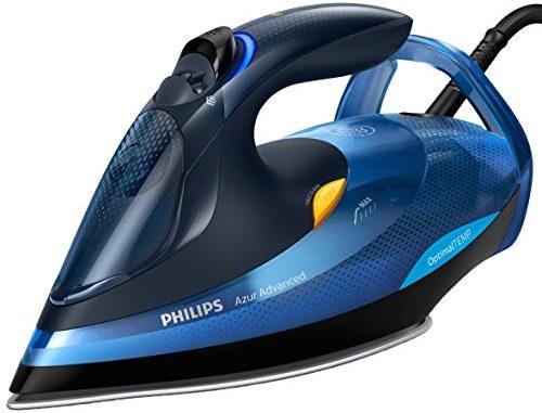 Philips Gc4932/20 fer à Repasser De Vapeur 2600w, Coup 220g/min, Semelle Steamglide Plus, Optimaltemp Sans Ajustement De Température, 2600w, Bleu