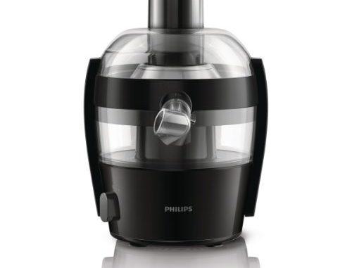 Philips Hr1832/00 Centrifugeuse Quickclean Nettoyage 1,5 L De Jus En 1 Extraction Puissance:500 W Noir