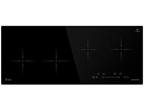 Plaque De Cuisson à Induction 92cm (autarkic, 7kw, 9 Marches, 4 Zones, Sans Cadre, Touches Sensitives Touchselect, Booster, Affichage Led) Ind9020rl Kkt Kolbe
