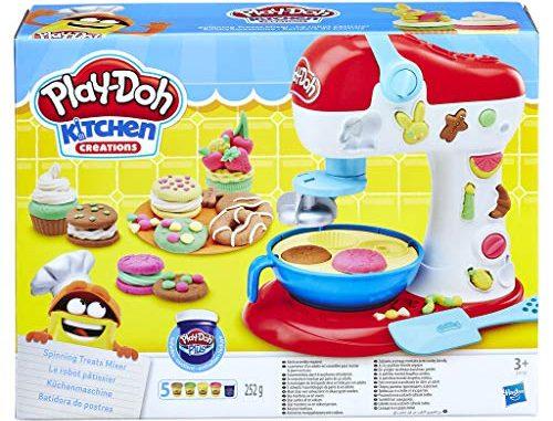 Play Doh Pate A Modeler Le Robot Pâtissier