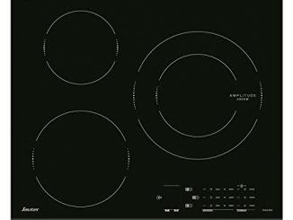 Sauter Spi4360b Plaque à Induction Encastrable 3 Foyers Largeur 60 Cm Noir