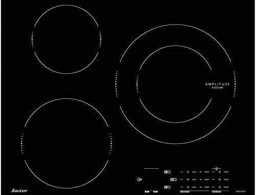 Sauter Spi4360x Plaque à Induction Encastrable 3 Foyers Largeur 60 Cm Inox