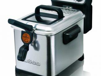 Seb Fr404800 Friteuse Filtra Pro Design Inox Cuve Amovible Argenté 4 L 2300 W