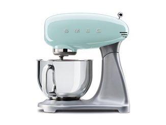 Smeg Robot Culinaire Multifonction Smf01pgeu, 800 W, Vert Pastel