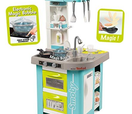 Smoby 311034 Tefal Cuisine French Cooking Module Electronique + 26 Accessoires