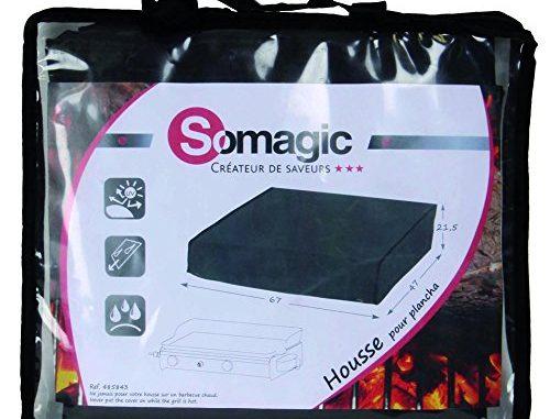 Somagic 485843 Housse De Plancha 2 Feux 67 X 47 X 21,5 Cm