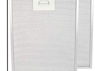 Spares2go Maille Métallique Hotte Aspirante Grille D'aération Filtre à Graisse Pour Zanussi Four Hotte Extracteur D'air (265x 305mm, Lot De 2)