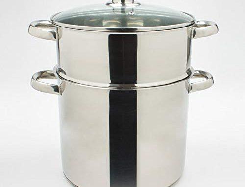 Table Passion Couscoussier Inox 24 Cm 9 Litres